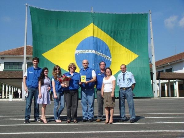 CVA Categoria YL para a radioamadora Maria Ignez Keske, PP5MIK, concurso este disputado em 2009.