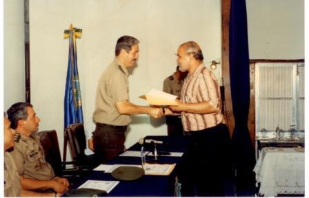 Gen Montezano solenidade encerramento CVA 97